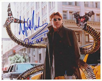 """Alfred """"doc Octopus"""" Molina Autographed 8X10 Photo Reprint (Free Shipping)*"""