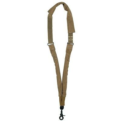 Coyote Tactical One Single Point Sling Adjustable Bungee Rifle Gun Strap Hunting