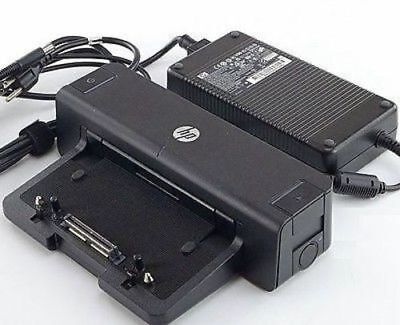 HP HSTNN-I11X Docking Station 688169-001 685339-002 With AC Power Adapter