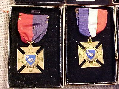 Original Lot Of 9 Vintage 14Th Nyng Sporting Medals