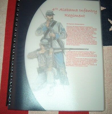 Civil War History of the 4th Alabama Infantry Regiment