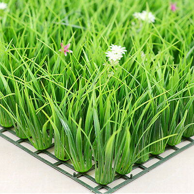 Simulation Plants Artificial Fake Lawn Turf Green Grass Home Garden Hotel Decor