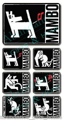 Mambo 'Doggy' Cork Backed Placemats - Set of 6 *NEW*