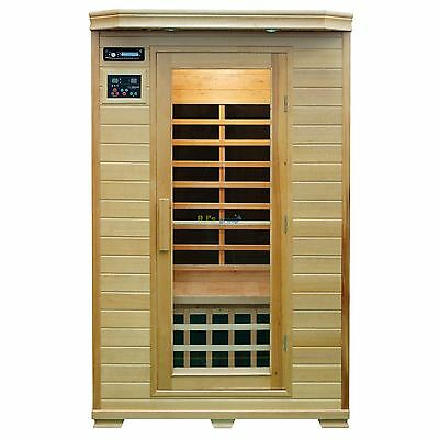 2 Person Infrared Sauna Cabin Belleville Carbon Fiber Heaters