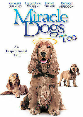 Miracle Dogs Too(BRAND NEW DVD)Charles Durning, Janine Turner, Lesley Ann Warren