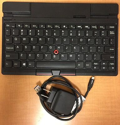 Lenovo ThinkPad Tablet 2 Bluetooth Keyboard with Stand US Version EBK-209A