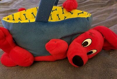 Scholastic Clifford Big Red Dog Halloween or Easter Basket