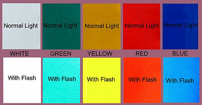 """6""""X8"""" VINYL REFLECTIVE CONSPICUITY TAPE reflector decal"""