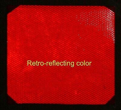 "8 inch Wide Red High Intensive REFLECTIVE TAPE 6""X8"""
