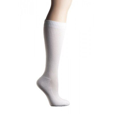 COMPRESSION SOCKS MD Ribbed Cotton Cushioned 8-15mmHG MD 3 pairs unisex