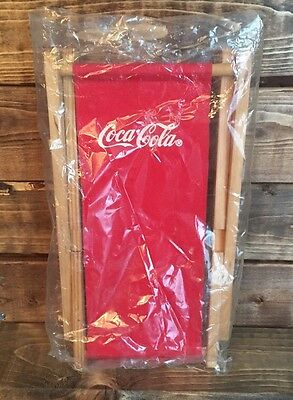 Coca Cola Doll Lounge Chair 1998 NIP