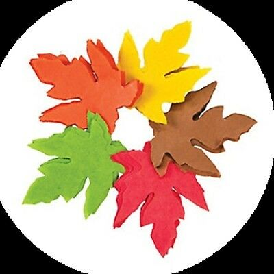 5000 Fall Tissue Paper Leaves Leaf Shaped Thanksgiving Halloween Foliage CRAFTS