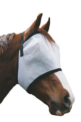 Deluxe Horse pony Fly+mask+Fly+Veil UV+insect protections