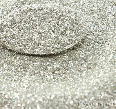 Silver Glass Glitter - Imported directly from Germany - 311-9-SL