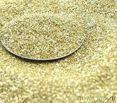 Gold - Bright Gold - Glass Glitter - 311-9-009  - 1 oz - 90 Grit - Most Popular