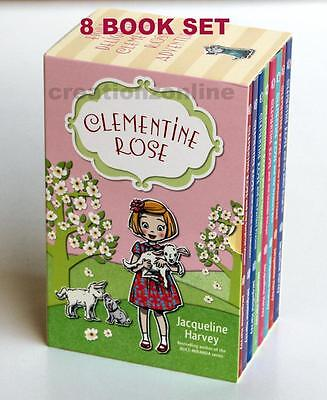 CLEMENTINE ROSE (1-8 ) 8 Books Boxed Collection by Jacqueline Harvey Brand New