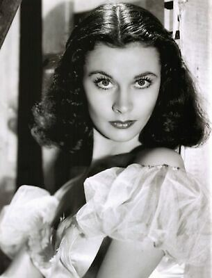 Vivien Leigh Film Actress Glossy Black & White Photo Picture Print A4
