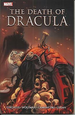 THE DEATH of DRACULA (MARVEL GRAPHIC NOVEL, 2011), NM NEW