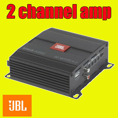Jbl Car Amp Amplifer 2 Stereo Channel Bridgeable Mono 280W Peak Power New