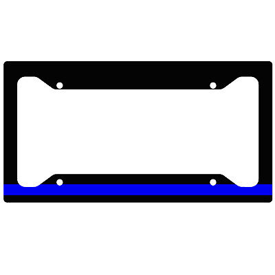 Luxury Thin Blue Line License Plate Frame Vignette - Picture Frame ...