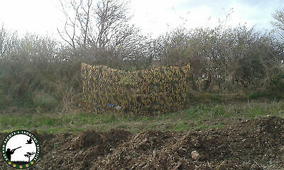 SUMMER STEALTH GHOST CAMO NET WITH GREEN MESH BACKING. CSS 5M X 1.5M SPRING