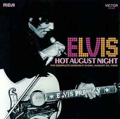 Elvis Presley - Hot August Night  - FTD CD New & Sealed - DELETED FROM CATALOGUE