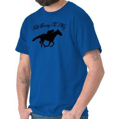 24a10bc2 Talk Derby To Me Funny Kentucky Horse Country T-Shirts T Shirts Tees For  Womens
