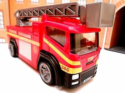 Personalised Plates Fire Engine Boy Girl Fireman Birthday Gift Toy Car Boxed New