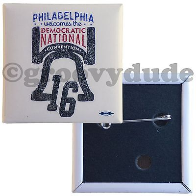 Liberty Bell 2016 Democratic National Convention Philadelphia DNC Pinback Button