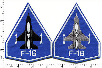 """20 Pcs Embroidered Iron on patches Air Force F-16 Falcon 3.25""""x4.19"""" AP027fA"""