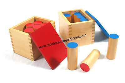 Montessori Sensorial Material - Sound Boxes (Sound Cylinders) - New