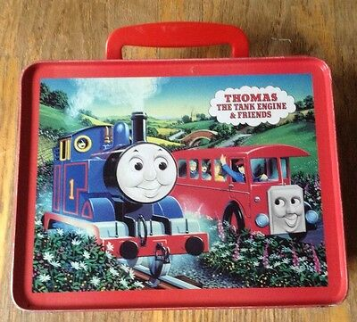 Thomas The Train*Tank Engine Lunch Box**Good Used Condition **1997