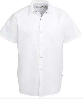 Chef Designs White Cook Shirt (Style #5050Wh) - Size 3Xl