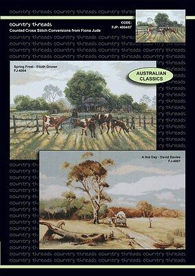 Australian Classics - 'Combo' Cross Stitch Chart from Country Threads. 2 Designs