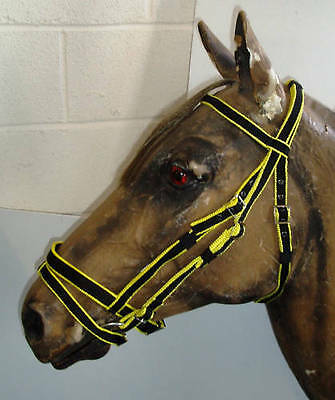 Official Libby's Standard Flash Bridle Mini Small Pony Pony Cob Full Extra Full