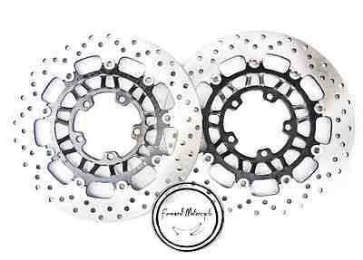 Front Brake Disc Rotor Set For Triumph DAYTONA Street Triple 675 Motorcycle New