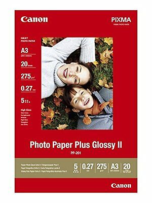 Canon Pp-201 A 3 20 Sheets 275 G New
