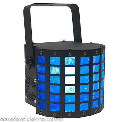 American DJ ADJ Mini Dekker Disco Stage Light 20W RGBW LED Derby Beam Effect DMX