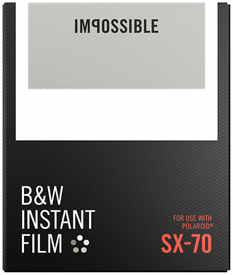 Impossible Bandw Film For Sx-70 New New