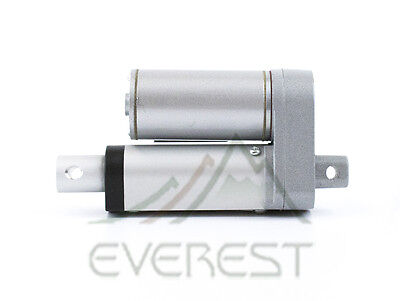 """NEW Heavy Duty Linear Actuator 2"""" inch Stroke 225 Pound Max Lift 12 Volt DC 12v"""