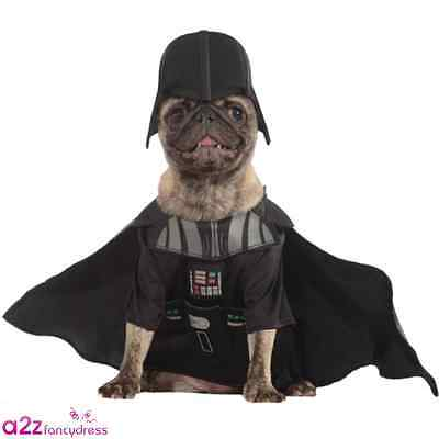 Star Wars Dog Pet Darth Vader Cosplay Novelty Official Costume Outfit