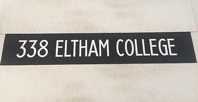 "South London Bus Blind 44 42""- 338 Eltham College"