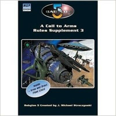 Babylon: A Call to Arms, Rules Supplement 3 (Babylon 5 RPG)