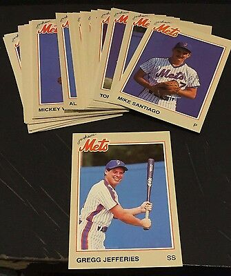 1987 Jackson Mets COCA-COLA Minor League Team SET Nice GREGG JEFFERIES Vintage!