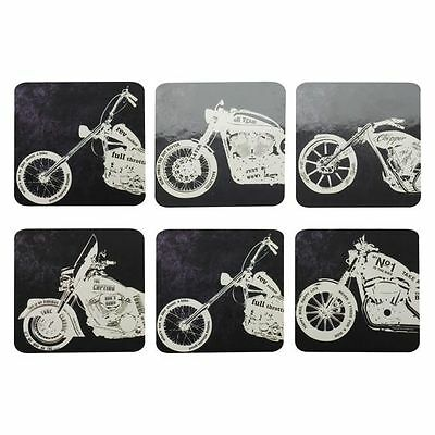 NEW Maxwell & Williams Motorcycles Coaster (Set of 6)