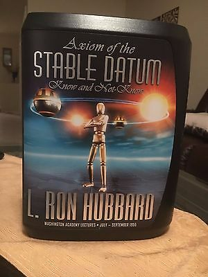 Axiom of the Stable Datum, Scientology Lecture CD, L Ron Hubbard