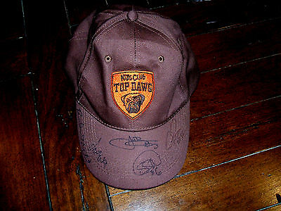 Kids Club Top Dawg SIGNED Hat Cap Cleveland Browns Hanford Dixon GREAT DEAL
