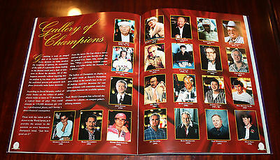 1997 Worlds Series of Poker Program Johnny Chan Gallery of Champions