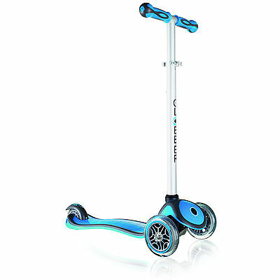 GLOBBER SCOOTER My FREE UP 3 Wheel Adjustable Height Scooter BLUE 3+ 50 kg Max