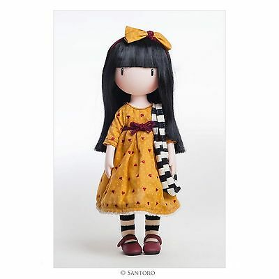 Santoro London Gorjuss Doll The Pretend Friend - New